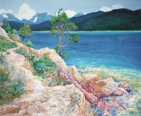 Lake McDonald in Summer by Mary Beth Percival, 2005
