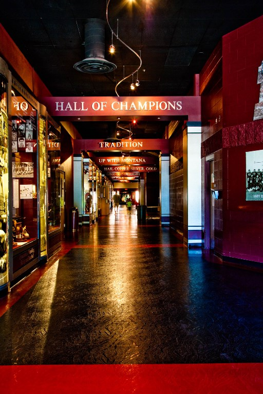 the Hall of Champions