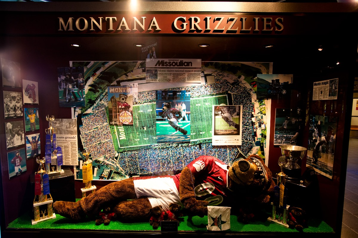 Monty display at the Hall of Champion