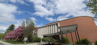 UM Music Building, home to the School of Music